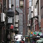 Melbourne back alley smoko by jembot