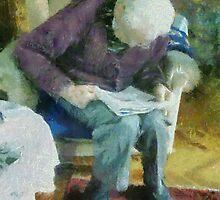 La Lecture by Gilberte