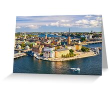 Gamla Stan in Stockholm Greeting Card
