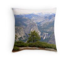 """Upper Merced River Canyon"" Throw Pillow"