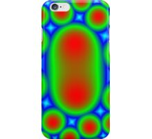 Abstract colorful circle pattern iPhone Case/Skin