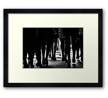 Greenlight Framed Print