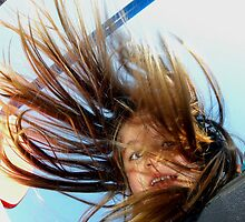 Windy Day at the Playground by Chuck Gardner