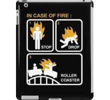 Case of Fire Roller Coaster iPad Case/Skin