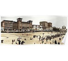 A day at the Beach, Atlantic City, 1915 Poster