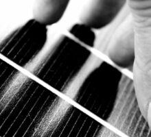 Hand Shadow on a Solar Panel Sticker
