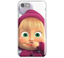 Masha and the Bear 2 iPhone Case/Skin