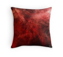 Blood of Me (an image, a poem, a song) Throw Pillow