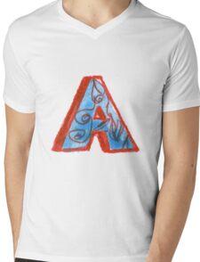 A Mens V-Neck T-Shirt