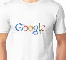 Google logo paint fantastic draw sketch Unisex T-Shirt