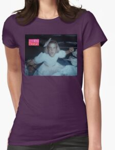 Debbie's Malibu Barbie - Addams Family Values Womens Fitted T-Shirt