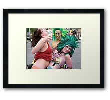 biggest hair Framed Print