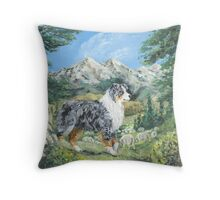 Beauty and Brains -The Majestic Pacific NW Throw Pillow