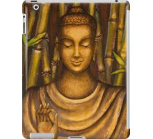 Stillness speaks. iPad Case/Skin