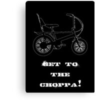 Choppa Canvas Print