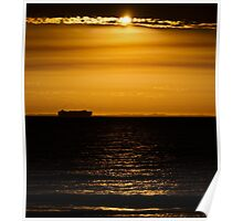 Shipping out Poster