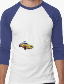 Fashion (by Austral Monkey) • NYC Taxi Men's Baseball ¾ T-Shirt