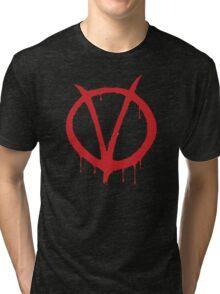 V for Vendetta - Alan Moore Tri-blend T-Shirt