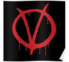 V for Vendetta - Alan Moore Poster