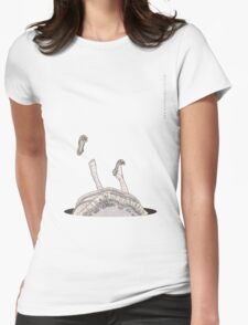 Falling Alice Womens Fitted T-Shirt