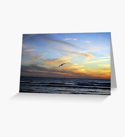 Pastel Skies Greeting Card