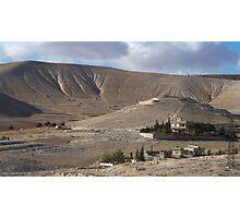 a wonderful Syria landscape Photographic Print