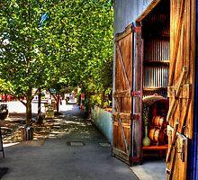 vintage street by Simon Penrose