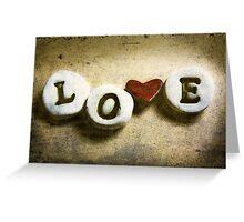 LOVE................. Greeting Card