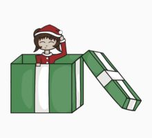 Chibi in a christmas box by Sachiko-Ka