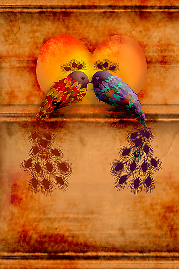 Love Birds by © Karin Taylor