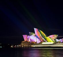 Opera House At Night by denangeles