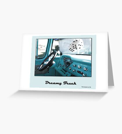 Dreamy Truck Greeting Card