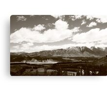 South Island, New Zealand Canvas Print