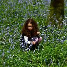 Lua in bluebells by Inese