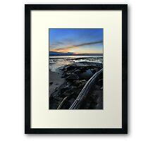 Bribie Island Sunset Framed Print