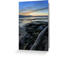 Bribie Island Sunset Greeting Card