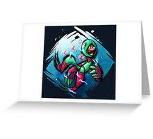 Luigi Pond Hopper Greeting Card