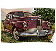 1947 Packard Poster