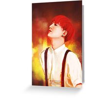 BTS Suga 01 Greeting Card