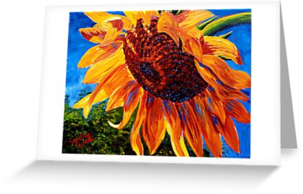 Sunflower in the Sunlight by sesillie