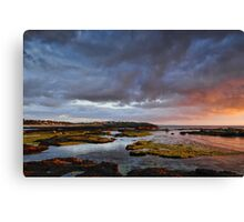 Glimmer of sunlight Canvas Print