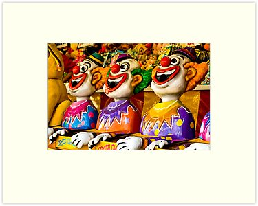 Crazy Clowns by kwill