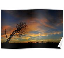 Outback Sunrise 2 Poster