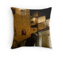 Pistoia By Night Throw Pillow