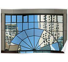 Jewish Museum Window Reflex Poster