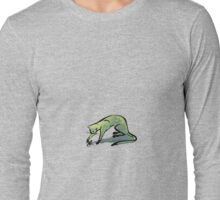 Simple Cat and Mouse (small) Long Sleeve T-Shirt