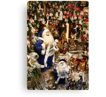 Time For Santa  Canvas Print