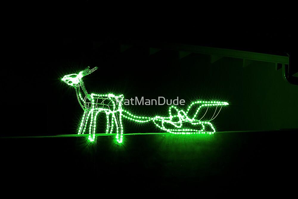 Reindeer Lights by RatManDude
