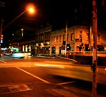 Fitzroy night by Lauren Marr
