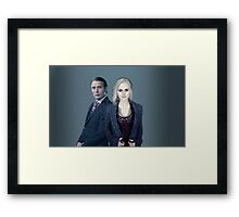 Hannibal and Liv Framed Print